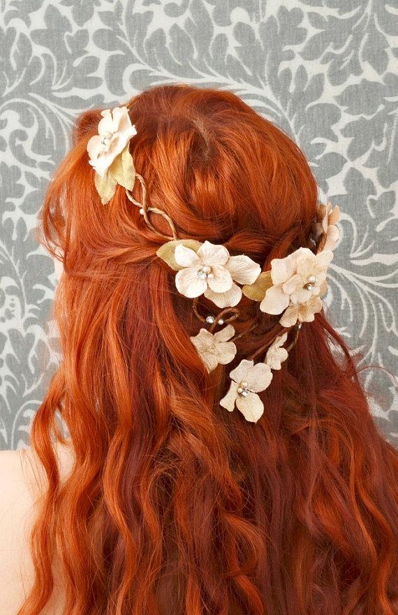 Guirlanda de flores para cabelo: Como fazer e usar