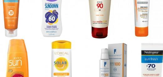 como usar protetor solar